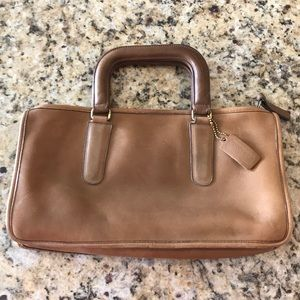 Coach Light Brown Briefcase/Bag